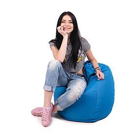 Кресло мешок груша L   ткань Oxford голубой
