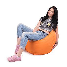 Кресло мешок груша L   ткань Oxford оранжевый