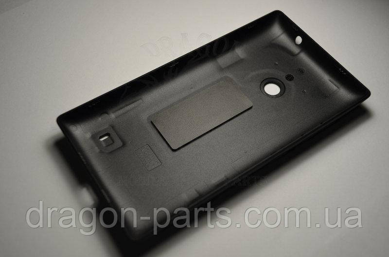 Задняя крышка  Nokia Lumia 525 черная оригинал , 02502Z6