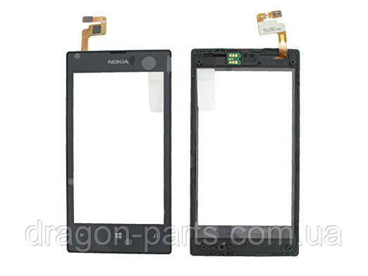 Тачскрин Nokia Lumia 525 сенсорная панель оригинал , 00809L1, фото 2