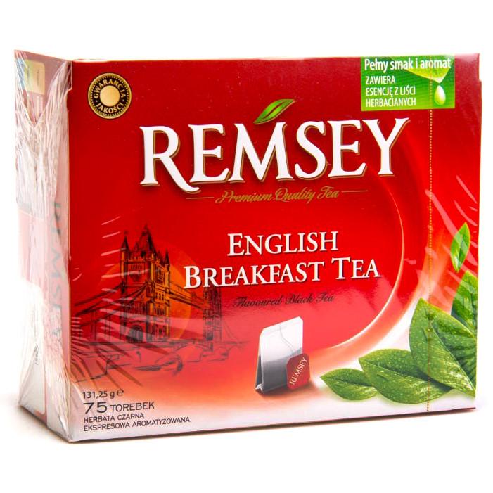 Remsey English Breakfast Tea чорний Англійський 75 пак.