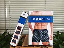 """Чоловічі боксери стрейчеві з бамбука Марка """"DOOMILAI"""" Арт.D-01071, фото 3"""