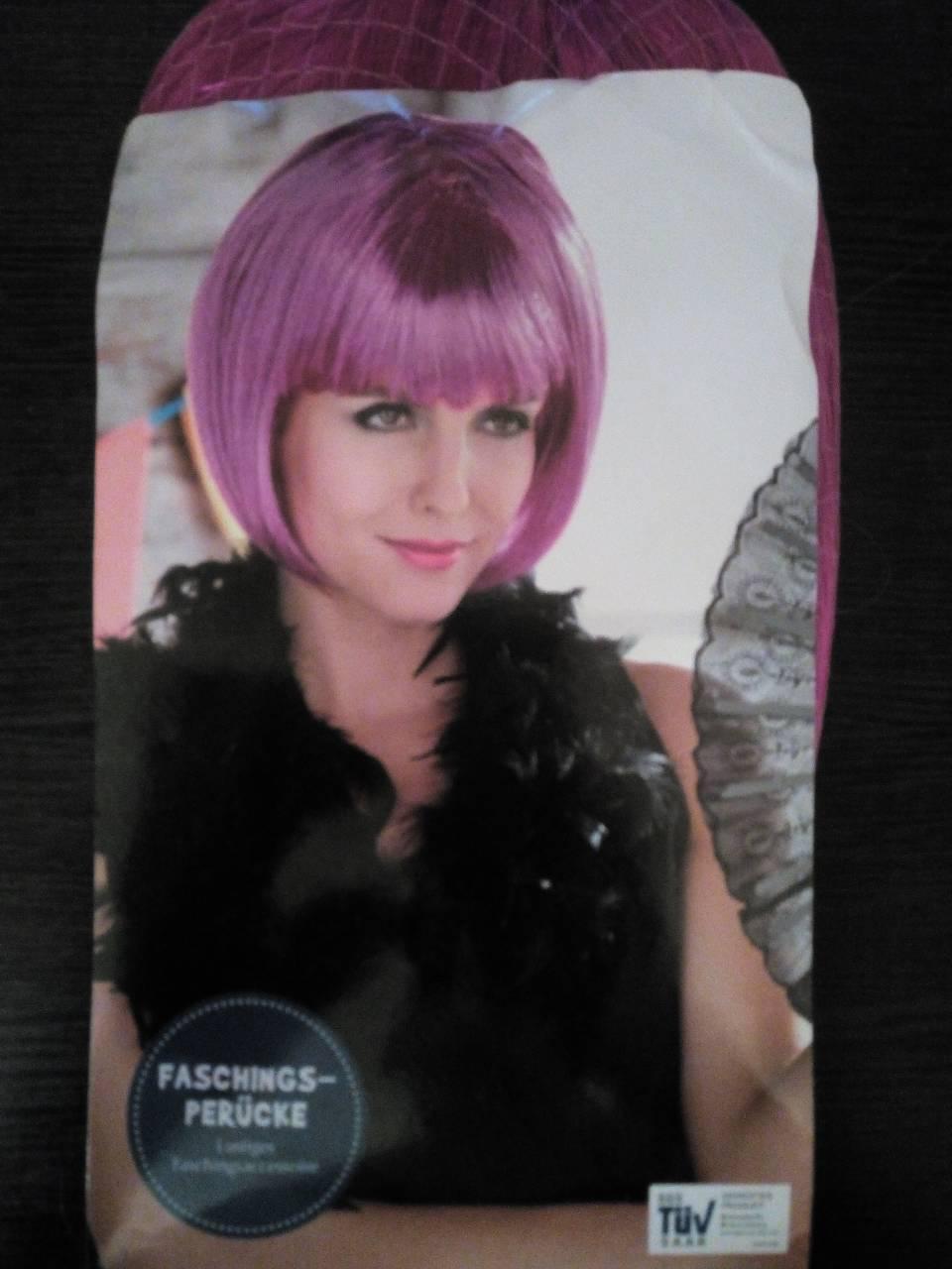 Парик под каре, розовые волосы, косплей, анимэ