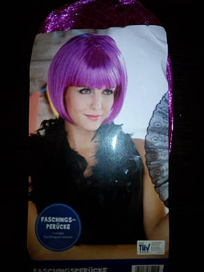 Парик под каре, розовые волосы, косплей, анимэ, фото 2