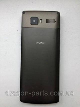 Задняя крышка  Nomi i280 черная, оригинал, фото 2