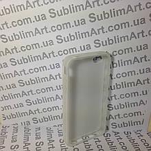 Чехол для 2D сублимации резиновый (TPU) на Iphone 4/4S прозрачный