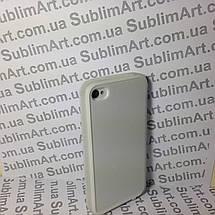 Чехол для 2D сублимации резиновый (TPU) на Iphone 4/4S прозрачный, фото 3