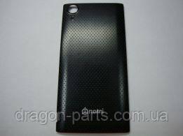 Задняя крышка (панель) Nomi i500 Sprint Черная Black, оригинал