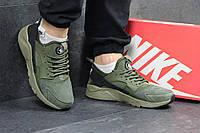 Кроссовки мужские Nike Huarache код товара SD-4576. Зеленые