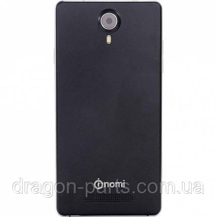 Задняя крышка (панель) Nomi i501 Style Черная Black, оригинал, фото 2