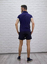"Короткие мужские шорты на резинке ""NIКЕ"" с карманами, фото 2"