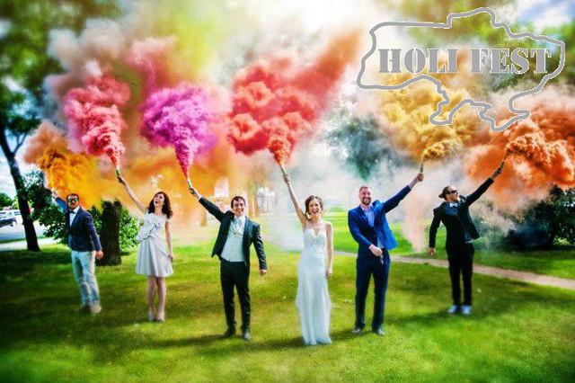 Чи бруднить кольоровий дим одяг? Розгорнута відповідь на ваше запитання.