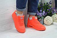 Кроссовки женские Nike Air Max Hyperfuse SD-4667. Оранжевые