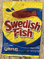 Мягкие желейные конфеты рыбки Swedish Fish