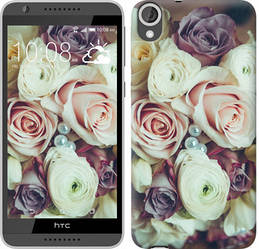 "Чехол на HTC Desire 820 Букет роз ""2692c-133-328"""