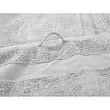 Рушник бамбук Tender 50х90 світло-сірий Irya, фото 2