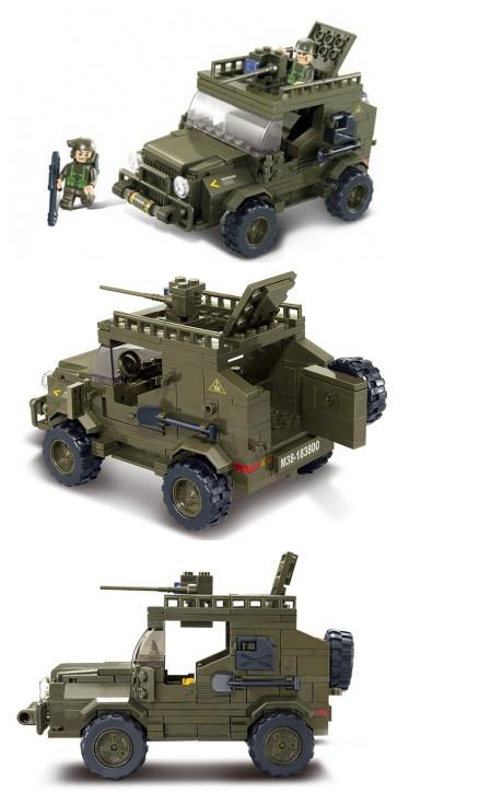 """Конструктор Sluban """"Сухопутные войска 2"""" 221 деталь M38-B0299"""