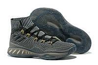 Мужские баскетбольные кроссовки Adidas Crazy Explosive 2017 Grey Реплика