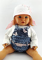 Оптом косынки детские с 46 по 52 размер косынка детская головные уборы для девочек на завязках, фото 1