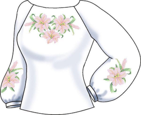 Заготовки женских блуз тм Княгиня Ольга