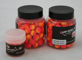 Плавающие бойлы CarpBalls Pop Ups 10мм 30гр Strawberry Jam