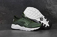 Кроссовки мужские Nike Huarache код товара SD-4740. Темно-зеленые