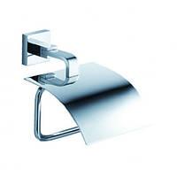 Держатель для туалетной бумаги с крышкой Aura KEA-14426CH