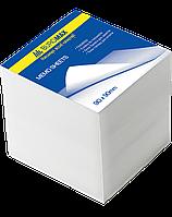 Блок белой бумаги 90х90х90мм, не склеенный