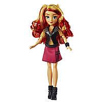 Кукла Сансет Шиммер Классический стиль Май Литтл пони моя маленькая пони