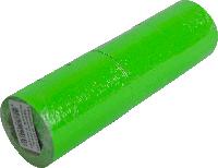 Ценники в бобине прямоугольные тип B, зеленые, 500шт.,22х12мм