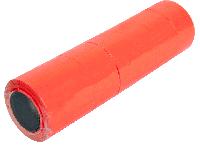 Ценники в бобине прямоугольные тип B, красные, 500шт.,22х12мм