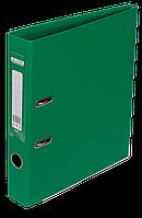 "Регистратор двухсторонний ""ELITE"" BUROMAX, А4, ширина торца 50 мм, зеленый"