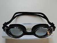 Окуляри для плавання чорного кольору (антифог, розмір універсальний)