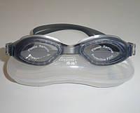 Дитячі окуляри для плавання сірого кольору (антифог, захист від UV-променів)