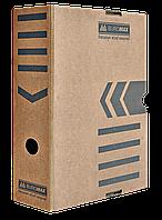 Бокс для архивации документов 100 мм, JOBMAX, крафт