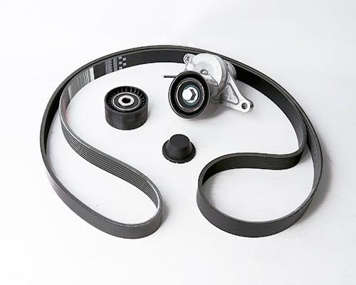 Комплект ремня генератора с роликами Renault Latitude, Nissan Teana