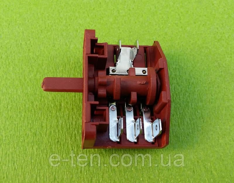 Перемикач потужності п'ятипозиційний Tibon 430 / 16А / 250V / Т125 (контакти в межах 2+3) Туреччина