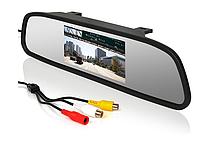 Автомобильный монитор зеркало заднего вида. Авто зеркало монитор для камеры заднего вида 5 дюймов
