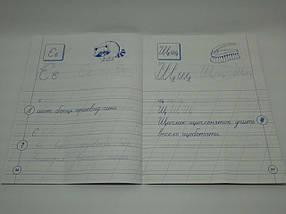 Прописи з української мови. Каліграфія для першокласників. УЛА, фото 3
