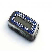 SKYRC lipopal 2-6s липо напряжение батареи контрольно-измерительный прибор ЖК-индикатор напряжения тестер