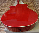 Гитара акустическая полноразмерная (4/4) FANNDEC RD + Каподастр, Медиатор, Ключ., фото 4