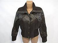 Куртка кожаная коричневая ПОГ-50 (14), Отл сост!