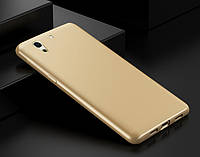 Чехол накладка iFace series для Huawei Y6 II / Honor 5A / Y6-2 золотистый