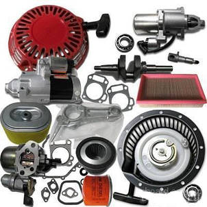 Запчасти на: мотоблок, генератор, мотопомпа, мотокоса, компрессор, бензопила, бетономешалка и др.