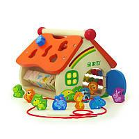 Mwsj деревянные животные мудрость дом головоломки цифровая игра игрушка