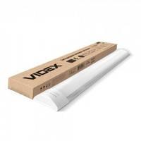 LED светильник линейный Videx 18W 0,6м 5000K 220V белый