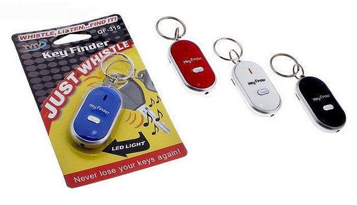 Брелок для поиска ключей на свист Key Finder Qf-315