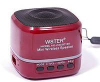 Портативная колонка Wster Ws-201bt с bluetooth