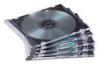 Коробка для CD-диска Slimline металлическая, ассорти