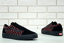 Мужские кеды Supreme x Vans Old Skool red. ТОП Реплика ААА класса., фото 3